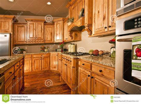 large modern kitchen  appliances stock image image