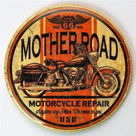 route  mother road motorcycle repair fridge magnet