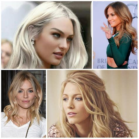 types of blonde hair colors hair color trend 2015 coolest blonde hair color trends for 2016 2017 best hair