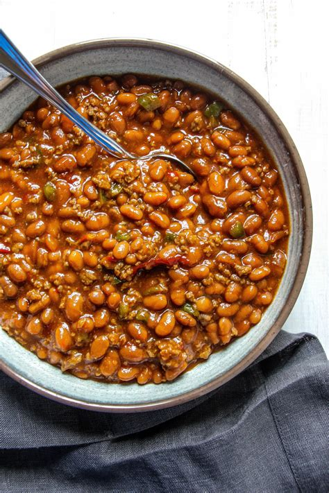 can dogs eat baked beans southern baked beans layers of happiness