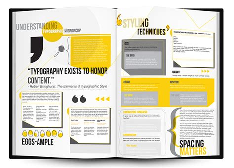 layout design behance newsletter layouts typographic hierarchy on behance