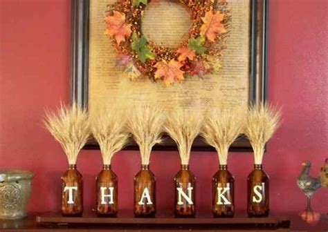 thanksgiving decorations to make at home diy easy thanksgiving crafts projects for adults