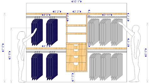 Plan Dressing En U 3917 by Comment Fabriquer Un Dressing Parfait Qrmaison