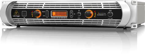 Behringer Nu12000dsp Power Lifier 12000 Watt With Dsp And Usb behringer nu 12000dsp ultra lightweight high density
