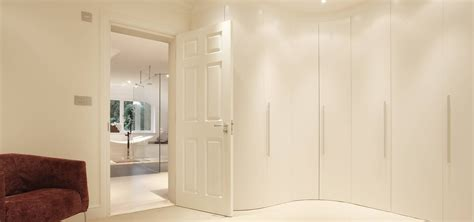 Fitted Bedroom Furniture Uk 30 Best Collection Of Curved Corner Wardrobe Doors