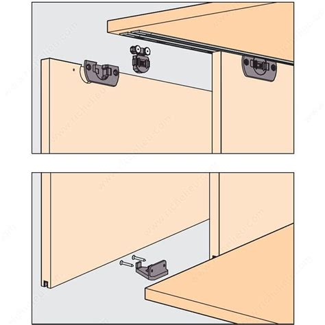 eku clipo 16 h ms by passing sliding system for 2 cabinet