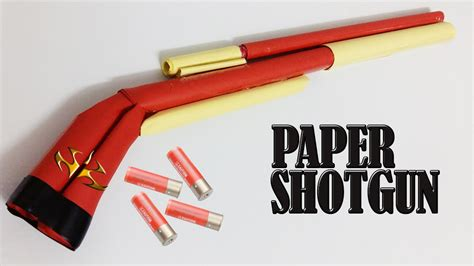 How To Make A Paper Shotgun That Shoots - how to make a paper shotgun that shoots