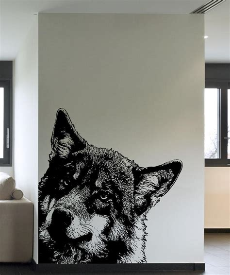 wolf wall stickers wolf wall stickers 28 images wolf vinyl wall decal