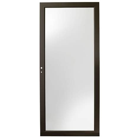 Bronze Door by Andersen 36 In X 80 In 3000 Series Bronze Left