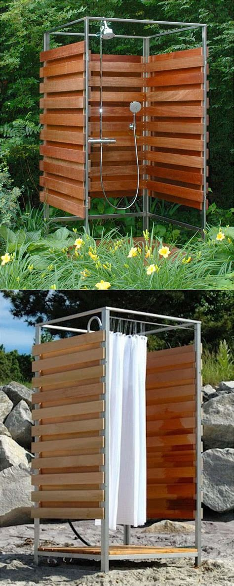 diy outdoor shower enclosure 32 beautiful diy outdoor shower ideas for the best