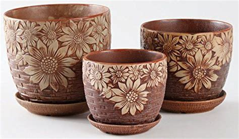 10 ceramic flower pot big flower pots for outdoor and indoor uses decor on the
