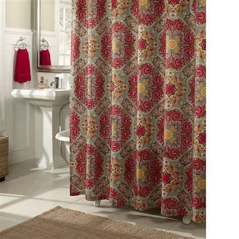 jc penny shower curtains kashmire shower curtain jcpenney home sweet home