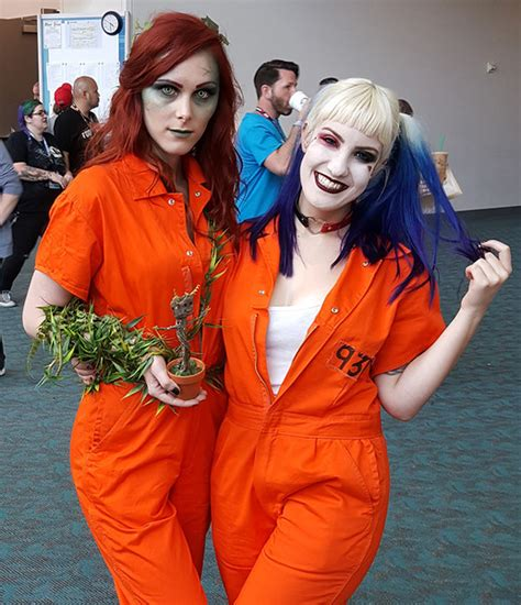 comic con ideas poison and harley quinn the most awesome