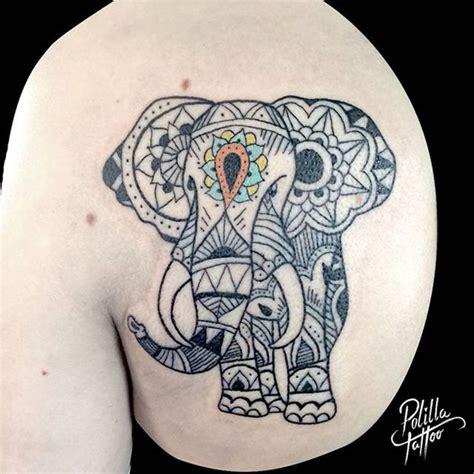 tattoo mandala elefante significado elefante mandala