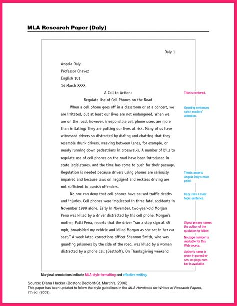 apa essay examples essay apa format for college papers research