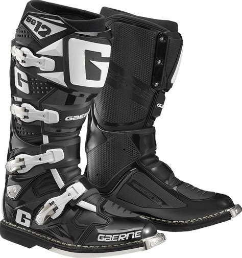 discount motorcycle riding boots 629 95 gaerne mens sg 12 sg12 motocross boots 260187