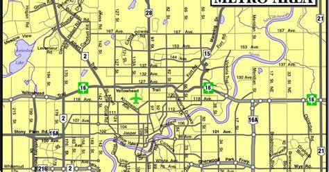 Edmonton City Street Metro Edmonton Area Alberta
