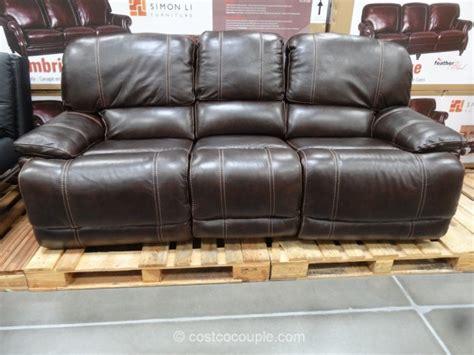 leather recliner sofa costco cheers clayton motion leather sofa