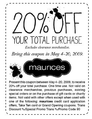 maurices outlet printable coupons maurices printable coupons eden escape