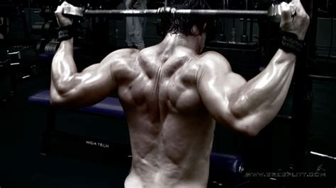 back trap mass workout greg plitt official web site of