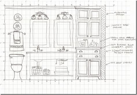 sketch of bathroom remodelaholic dream master bathroom inspiration