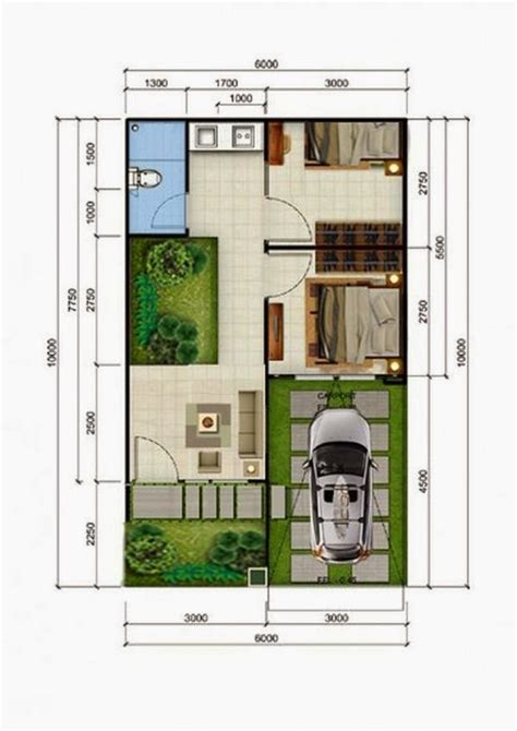 denah desain interior rumah minimalis desain rumah tipe 36 minimalis terbaik untuk anda jaaru com
