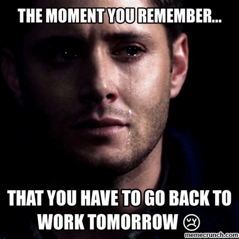 Back To Work Meme - 20 memes that will get you through the first monday of 2016