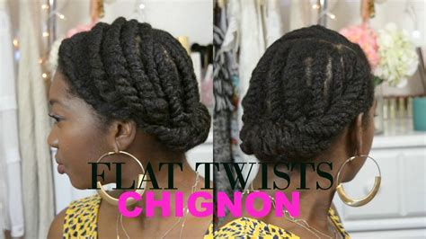 protective styles for black hair growth natural hair protective style updo chunky flat twists
