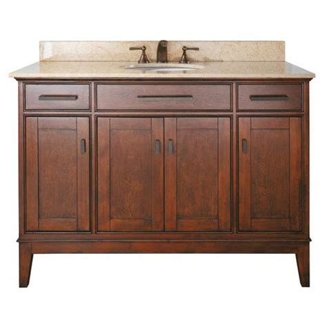 48 inch bathroom vanity cabinet only madison 48 inch vanity only in tobacco finish avanity