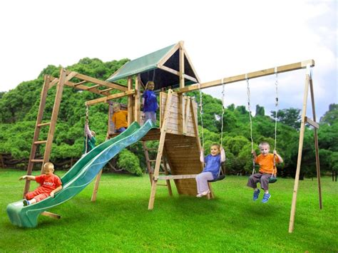 swings and slides for small gardens kids small climbing frame kid swing slide set playhouse