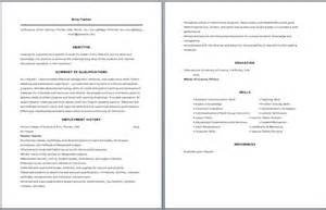 Sle Of High School Resume by Shop Resume Sales Lewesmr