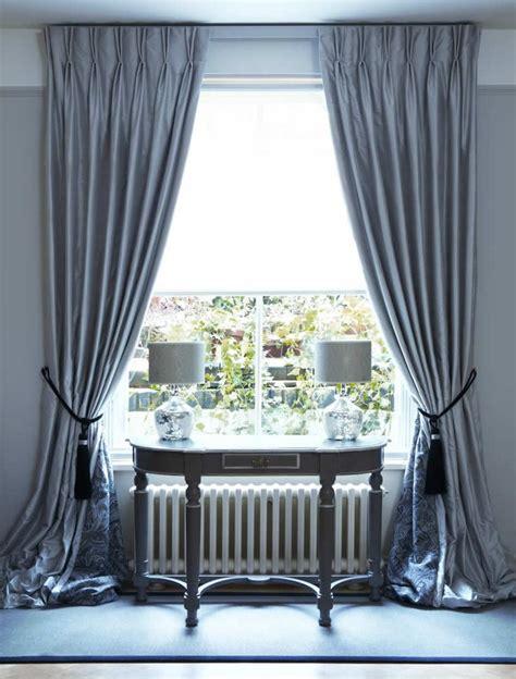 Gardinen Design Ideen by Best 25 Silk Curtains Ideas On Silk Drapes
