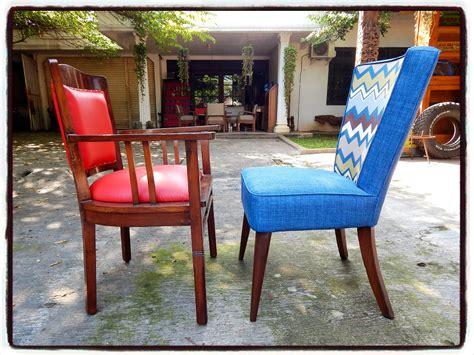Kursi Vintage toko barang antik dijual kursi vintage merah kursi