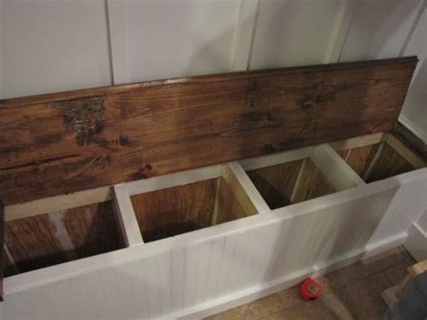how to build a built in bench with storage built in storage bench plans pdf woodworking