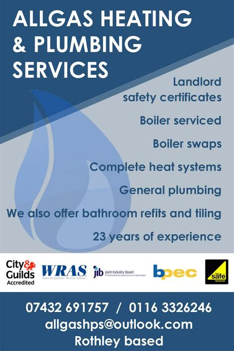 Heating Plumbing Services Allgas Heating Plumbing Services 171 Pink Pages