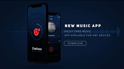 Music App Demo After Effects Template Filtergrade After Effects App Template