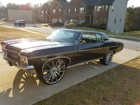 1970 2 door impala 1970 chevrolet caprice 2 door coupe impala donk classic
