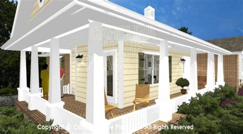 small home plans with wrap around porch 3d small house 3d images for chp sg 1132 aa small brick 3d house plan views