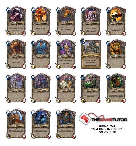 printable hearthstone card list naxxramas legendary boss card ideas