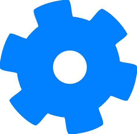 Blue W I Z A R D blue cog 1 clip at clker vector clip royalty free domain