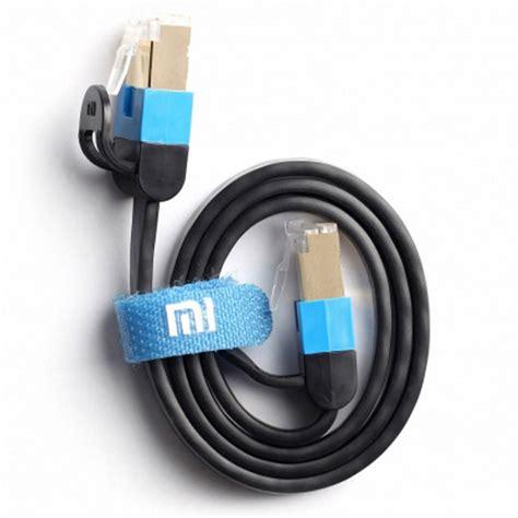 Xiaomi Kabel Ethernet Rj45 1 5m Black T3010 1 xiaomi rj45 to ethernet network cable black 0
