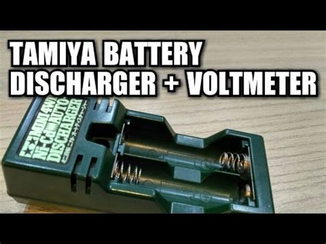 tamiya battery discharger voltmeter ミニ四駆 tamiya mini 4wd 11