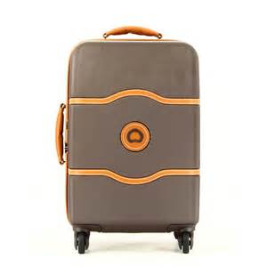 valise rigide taille cabine chatelet 55 cm delsey