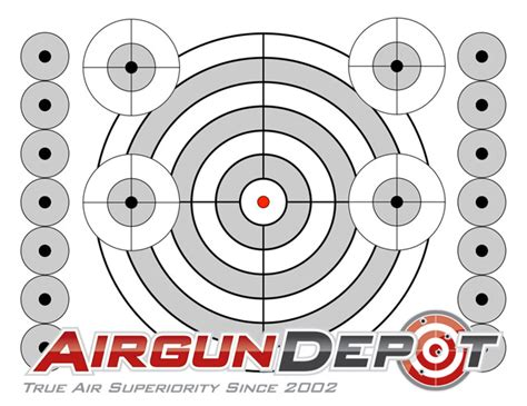 free printable shooting targets for pistol rifle airgun printable targets airgun depot