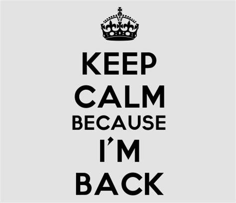 I M Back i m back hahaha published by d on day 2 750