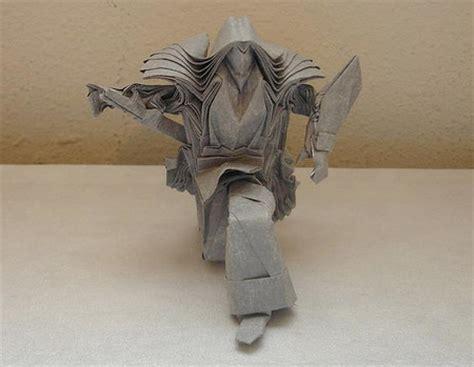 Origami Samurai Warrior - amazing origami sculptures rania s random corner