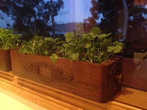 narrow window box planter herb planter on narrow window ledge singer sewing