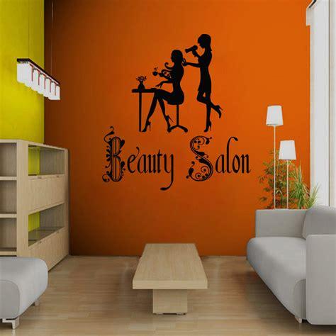 Salon Wall Murals wall decal beauty salon sign murals hairdresser hairstyle