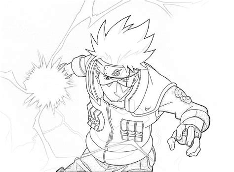 Coloring Pictures Kakashi Coloring Pages Naruto Coloring Pages Kakashi by Coloring Pictures