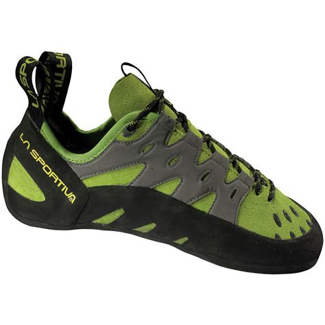 used rock climbing shoes la sportiva tarantula reviews trailspace